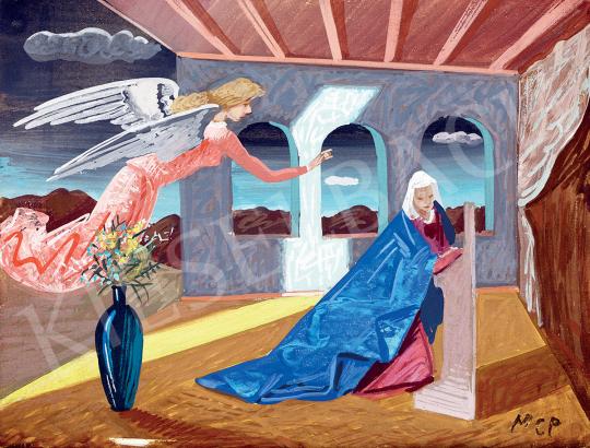 Molnár C., Pál - Annunciation | 47th Autumn Sale auction / 45 Item