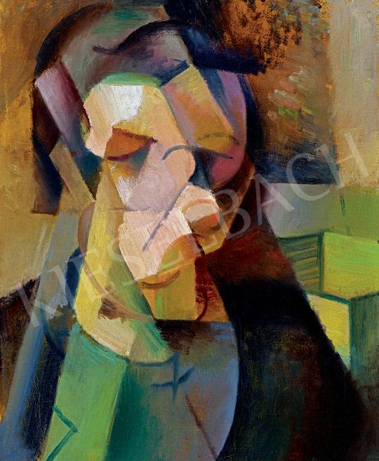 Szobotka, Imre - Cubistic Portrait | 47th Autumn Sale auction / 46 Item