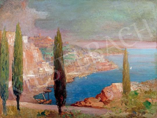 Háry, Gyula - Mediterranean Beach (Amalfi) | 47th Autumn Sale auction / 47 Item