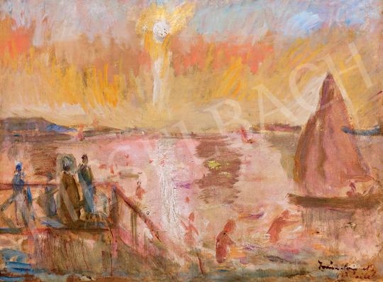Iványi Grünwald, Béla - Sailing Boat on Lake Balaton | 47th Autumn Sale auction / 49 Item