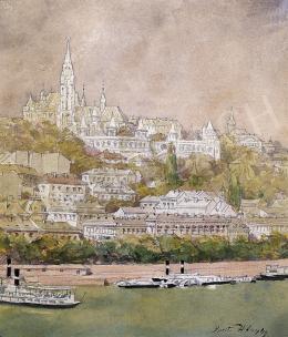 Háry Gyula - A Mátyás templom látképe