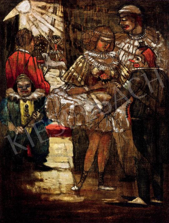 Remsey Jenő György - Cirkuszi jelenet | 47. őszi aukció aukció / 89 tétel