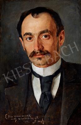 László Fülöp - A vidéki hetilap főszerkesztője (Dr. Grünbaum-Galambos Pál arcképe)