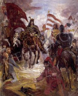 Greguss, Imre - Rákóczi on horseback