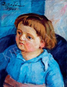 Ziffer Sándor - Ziffer kisfiának portréja