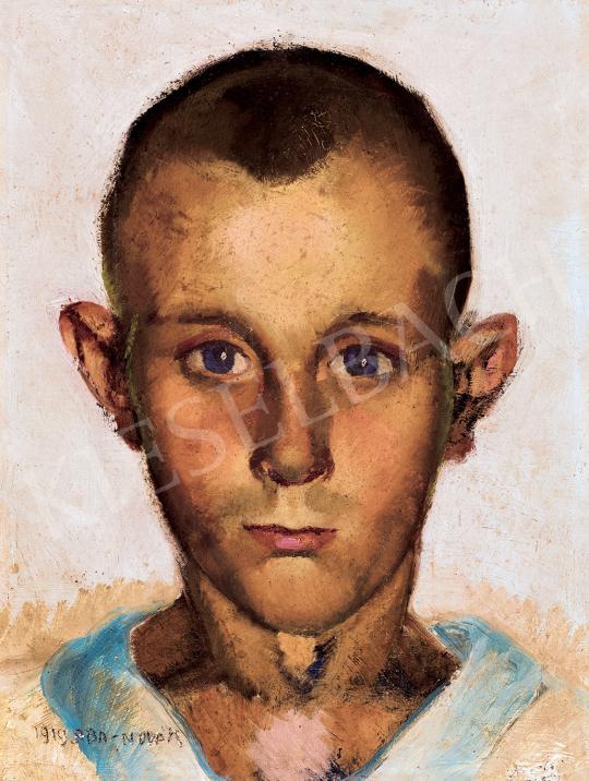 Aba-Novák, Vilmos - Boy with Blue Eyes   47th Autumn Sale auction / 121 Item