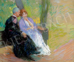 Kunffy, Lajos - Afternoon talk (On the Bench)