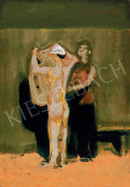 Domanovszky, Endre - Composition with Two Figures (After Bath)
