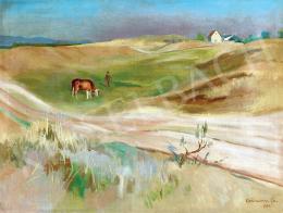 Bornemisza Géza - Őszi dombos táj