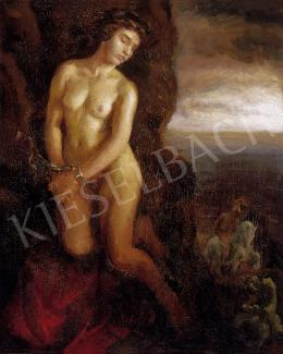 Unknown Hungarian painter - Freeing of the slave woman