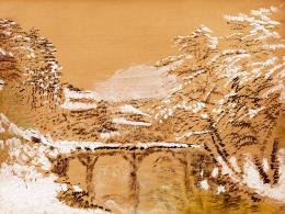 Mednyánszky, László - Landscape in the High Tatras in Winter (Silence)