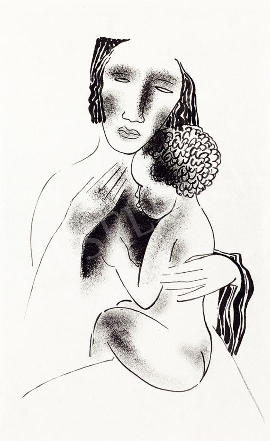 Kádár Béla - Anya gyermekével | 48. téli aukció aukció / 4 tétel