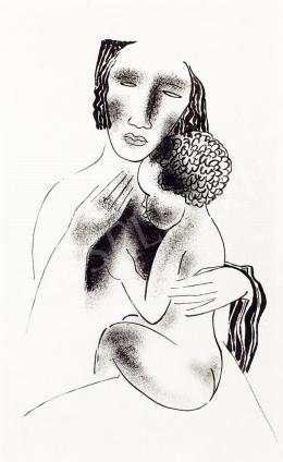 Kádár, Béla - Mother with Child (1930s)