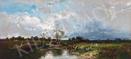 Rubovics, Márk - At the Brook (1885)