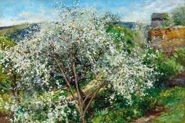 Edvi Illés, Aladár - Spring (Blossoming Trees)