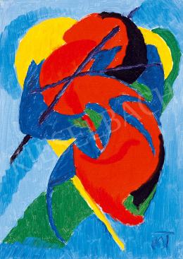 Mattis Teutsch, János - Red Horse (Composition) (1922-23)