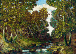 Jaszusch, Antal (Jasszus Antal) - Autumn Forest (c. 1930)