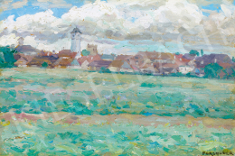 Perlmutter, Izsák - Poprad Landscape (1899)