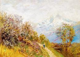 Mednyánszky, László - Spring in the High Tatras