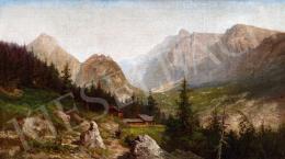 Telepy, Károly - Landscape in the High Tatras
