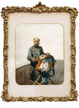Zichy Mihály - Kíntornás (Kéregetők)