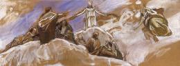 Székely, Bertalan - Plan for a Fresco