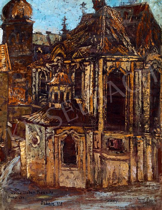 Orbán Dezső - Templom | 48. téli aukció aukció / 60 tétel