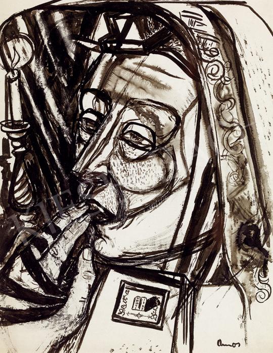 Ámos, Imre - Prayer | Winter Auction auction / 81 Item