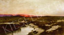 K. Spányi Béla - Hajnali patakpart