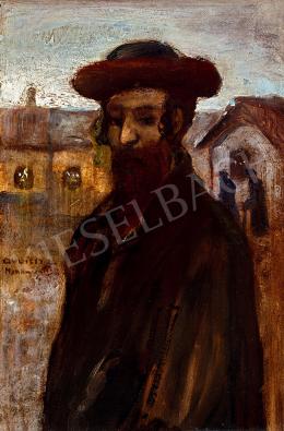 Gulácsy Lajos - Fiatal rabbi (A munkácsi rabbi)