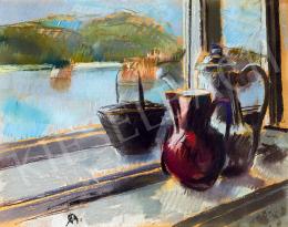 Bernáth, Aurél - View to the Danube (Studio Window)