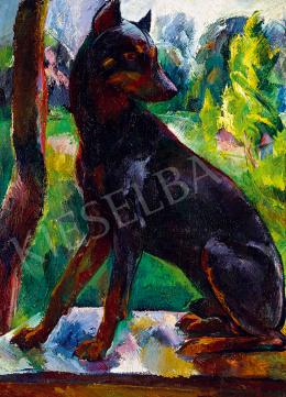 Aba-Novák, Vilmos - Eszter Mattioni's Favourite Dog