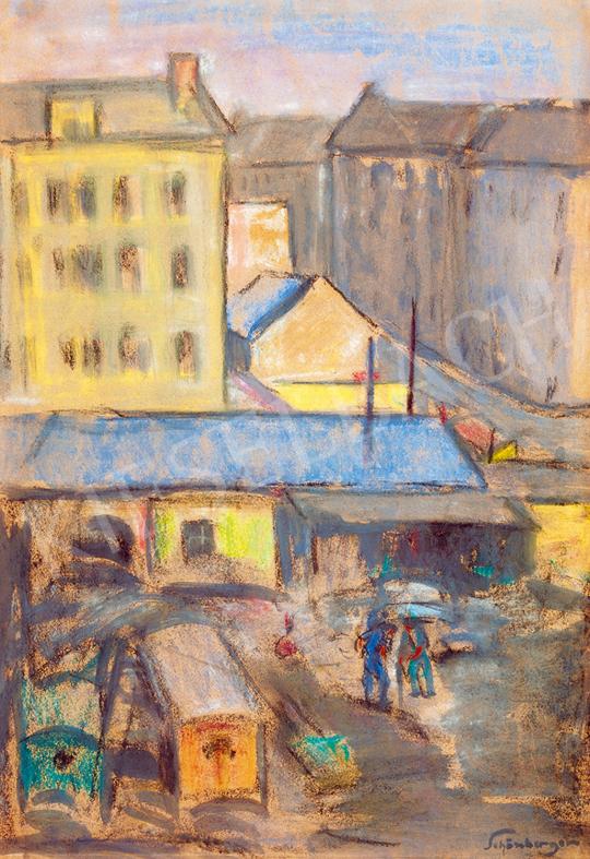 Schönberger, Armand - Cityscape | Winter Auction auction / 124 Item