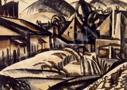 Uitz, Béla - Expressionis Landscape