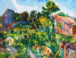 Paizs-Goebel, Jenő - In the Garden