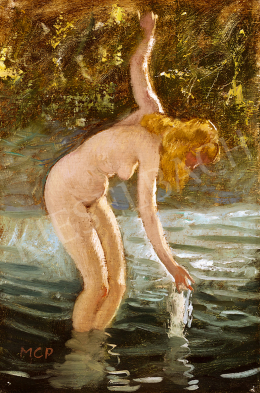 Molnár C., Pál - Woman Bathing