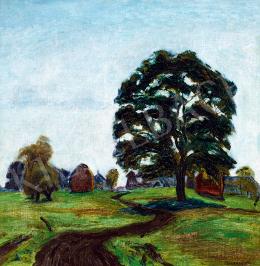 A. Tóth Sándor - Francia táj (A magányos fa)