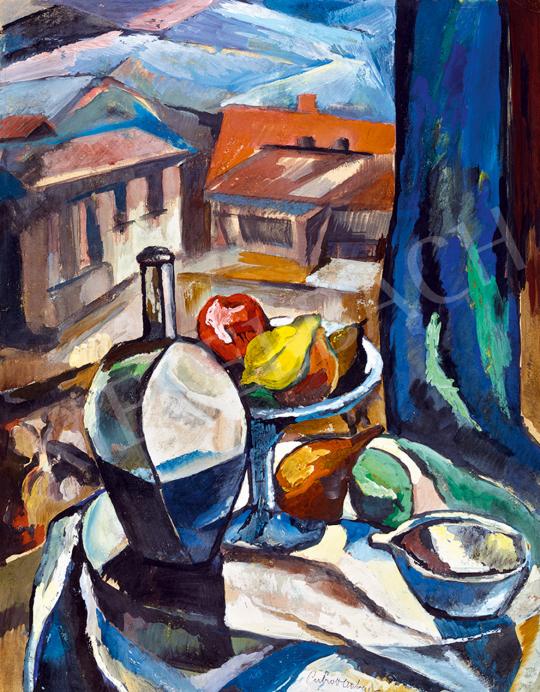 Perlrott Csaba Vilmos - Csendélet | 48. téli aukció aukció / 187 tétel