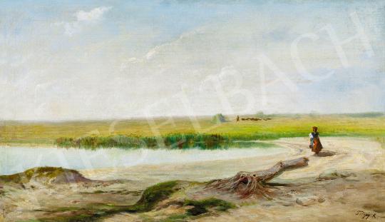 Telepy Károly - Alföldi táj | 48. téli aukció aukció / 197 tétel