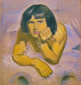 Járitz, Józsa - Male portrait