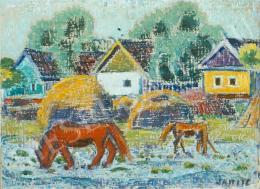 Járitz, Józsa - Horses