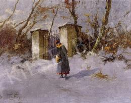 Neogrády Antal - Téli séta