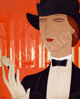 Gara, Arnold - Art Deco Woman (Riding Out) (1926)