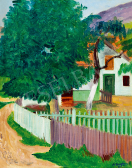 Vörös, Géza - Garden by the Danube (1936)