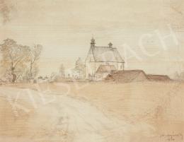 Mednyánszky László - Felvidéki táj (1914)