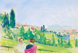 Vaszary János - Pasaréti kilátás (1936)