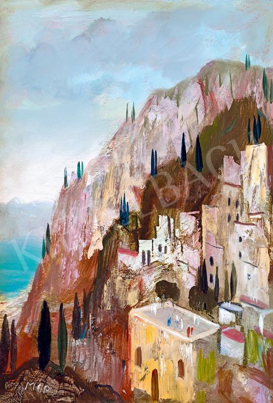 Molnár C., Pál - Italian Town | The 49th auction of the Kieselbach Gallery. auction / 50 Item