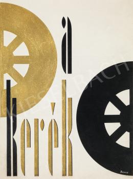 Berény, Róbert - The Wheel (Cover Design)