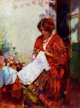 Herrer Cézár - Spanyol nő