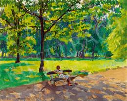 Ferenczy Valér - Napfényes parkban
